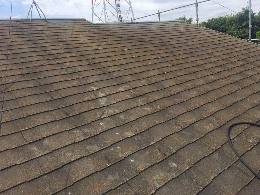 屋根塗装前の状態
